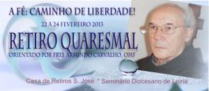 Frei Armindo Carvalho orienta retiro da UASP