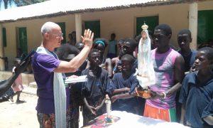 Ecos da Guiné: Nossa Senhora de Fátima! Promessa cumprida .